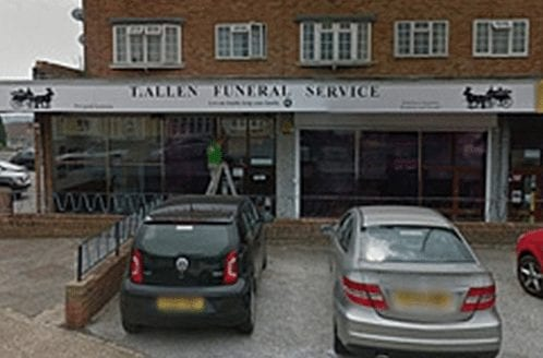 T Allen Funeral Services in Strood