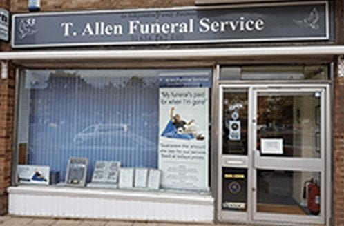 T Allen Funeral Services in Twydall